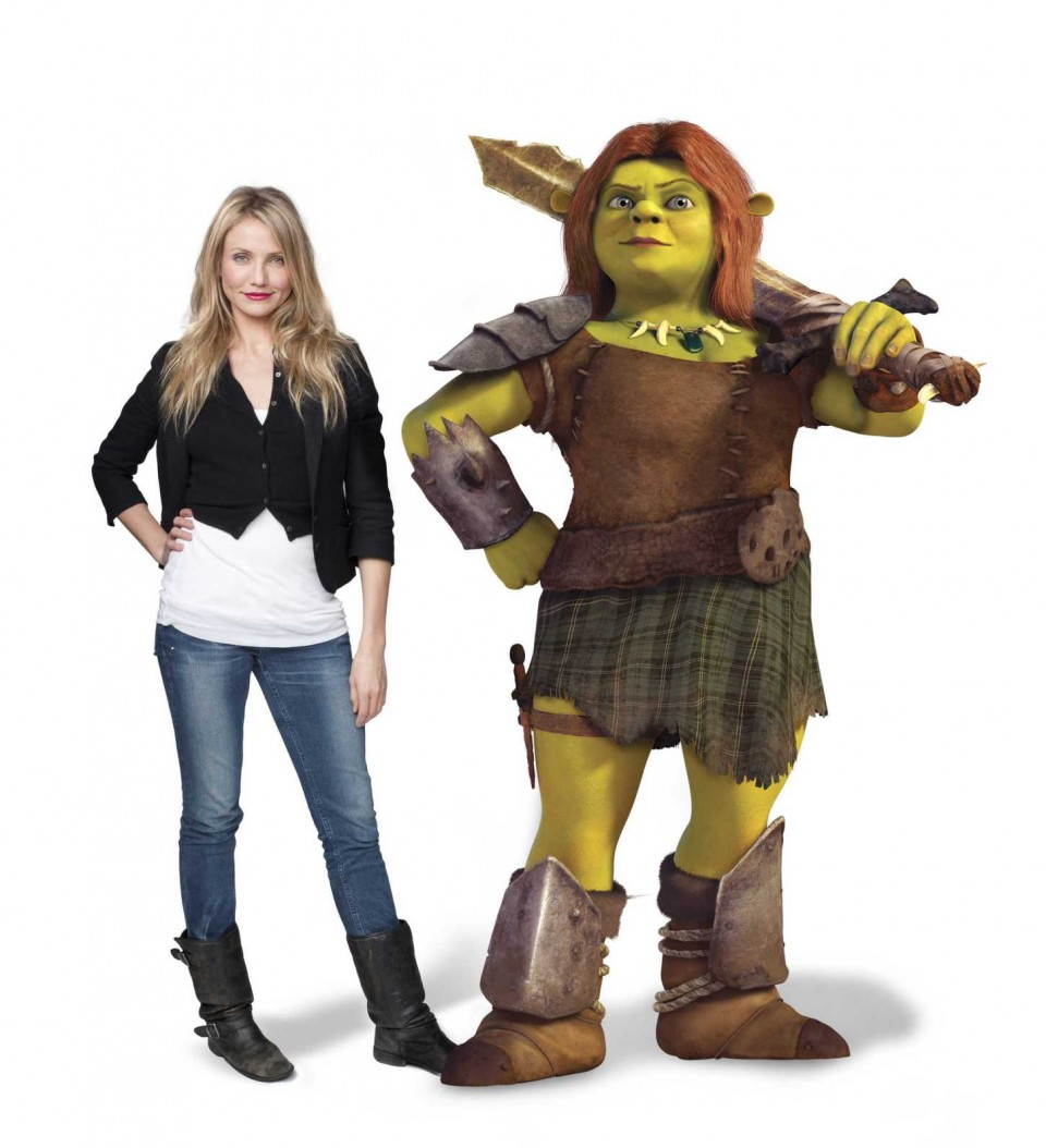 Cameron Diaz Shrek Forever After 2010 animatedfilmreviews.blogspot.com