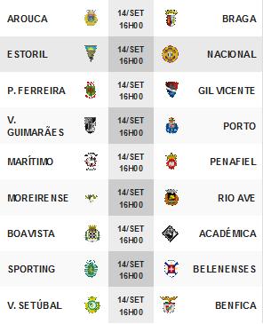 Liga Zon Sagres 2014-2015 4ºJornada