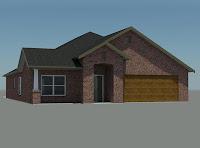 modelo de casa con garage para 2 autos