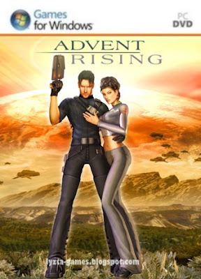 Advent Rising PC Cover