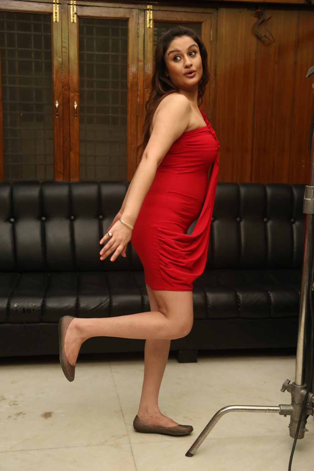 Sonia Red nude 345