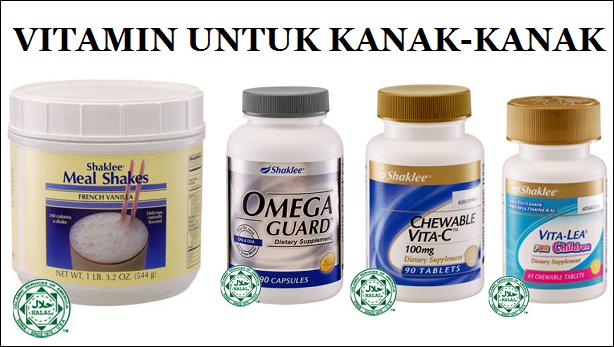 vitamin kanak-kanak