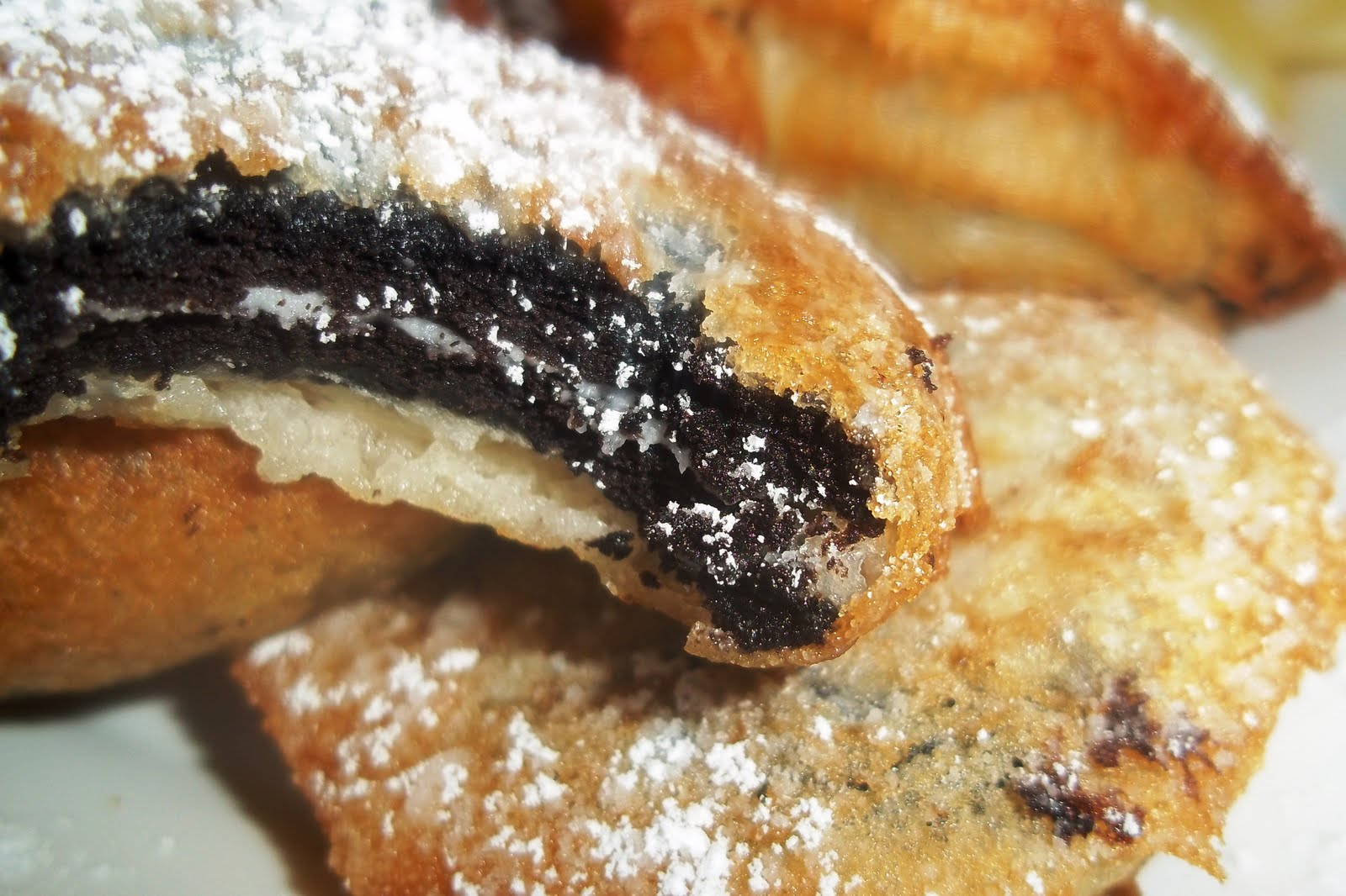 ... about the thought of eating fried cookies, give these babies a try