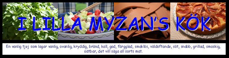I Lilla Myzan's kök