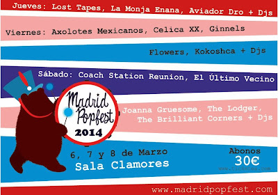 Cartel Madrid PopFest 2014
