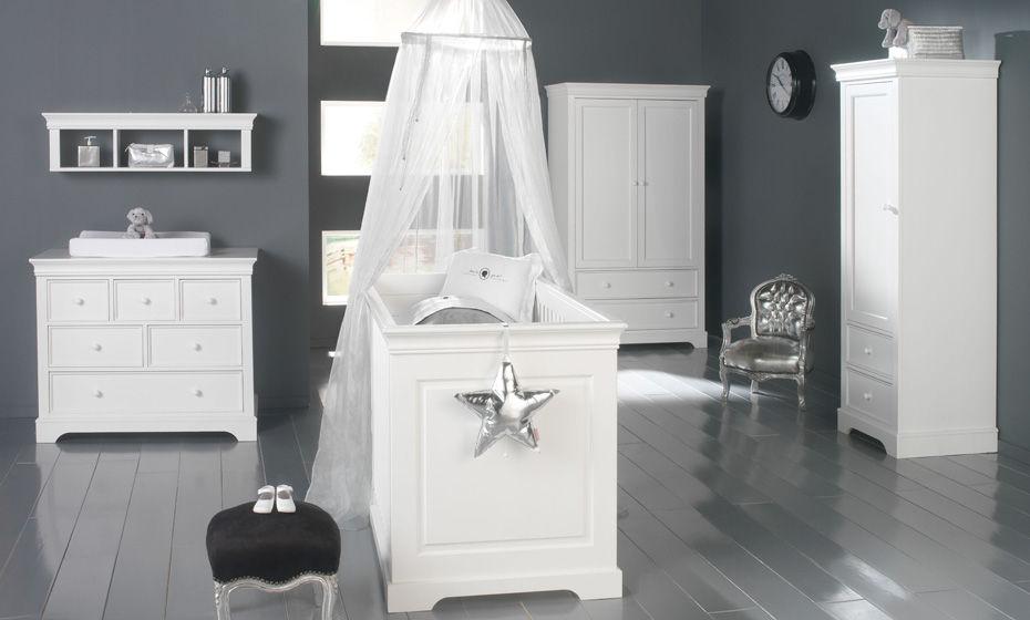 Habitaci n de bebe color gris dormitorios con estilo - Iluminacion habitacion bebe ...