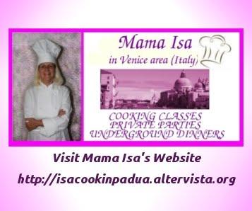 Mama Isa's Website: Mama Isa's Underground Dinners