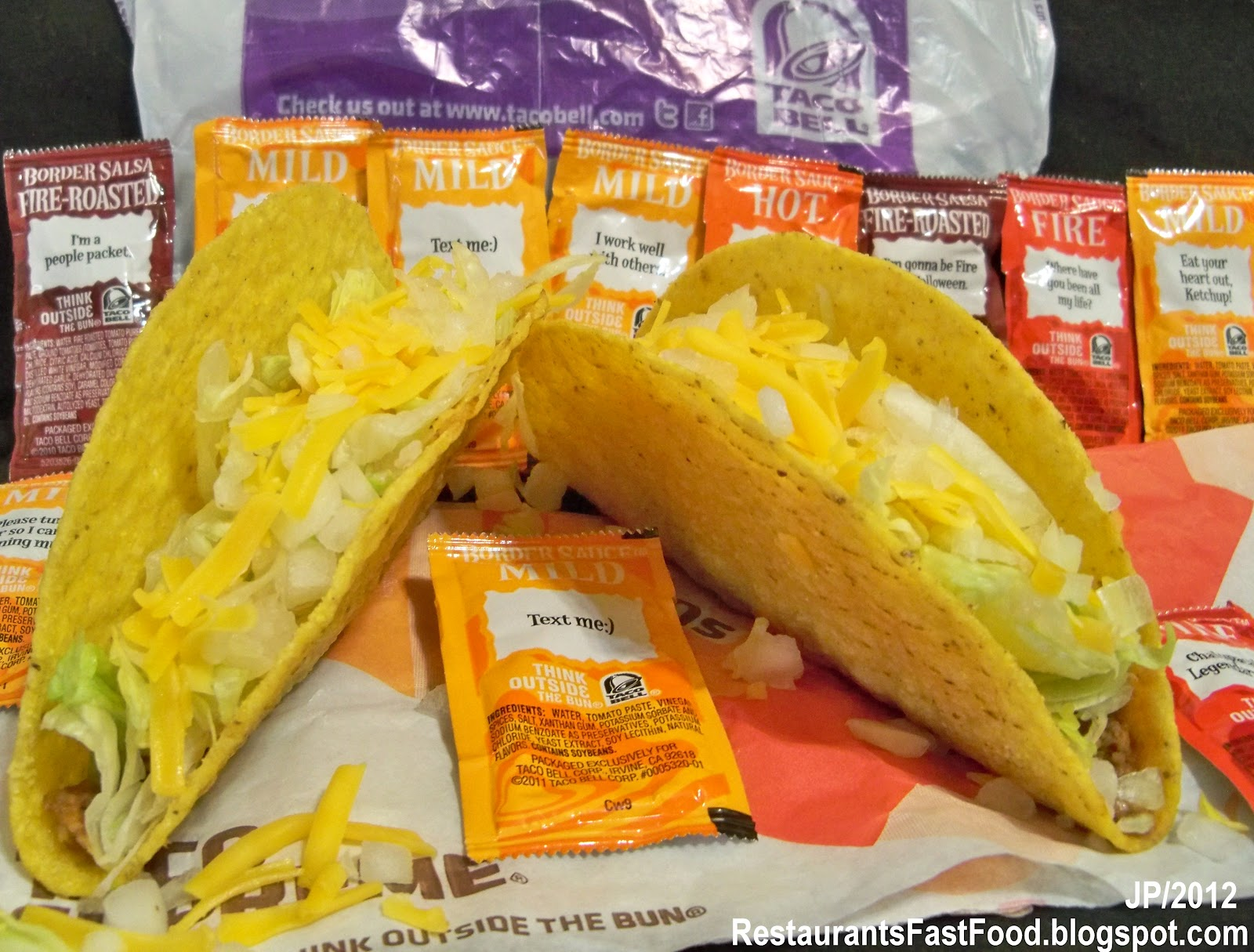 """food taco bell essay Best & worst taco at taco bell despite marketing almost exclusively to teens and the tipsy–hopefully two separate groups of people–their food satisfies stubborn cheesy cravings faster than you can say """"fourth meal""""."""