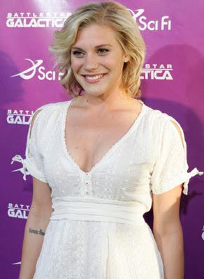 Katee Sackhoff vestido de moda