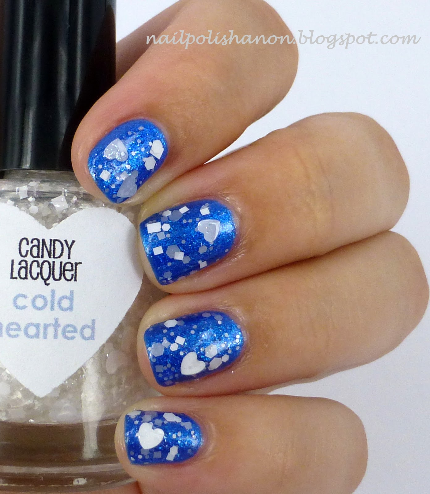 Candy Lacquer Cold Hearted Over Dollish Polish A Bad Case Of Blue Balls