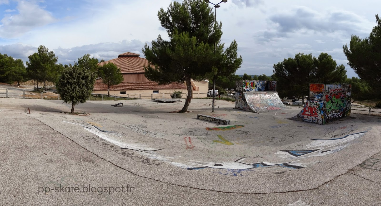 Venelles ancien skatepark