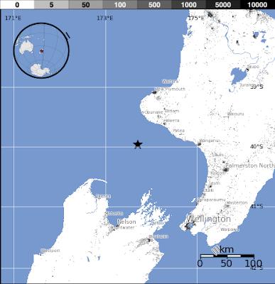 Sismo de 6,2 grados sacude Nueva Zelanda el 03 de Julio 2012