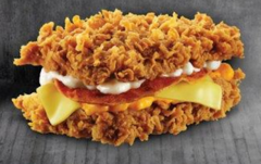 kfc zinger double
