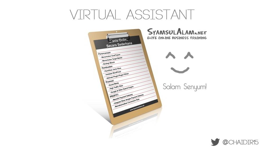 Jawaban Interview Job Virtual Assistant Syamsul Alam
