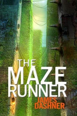 the cover of The Maze Runner by James Dashner
