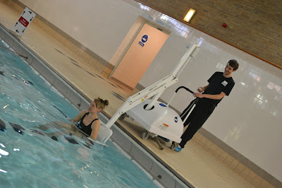 Disabled Access Pool Hoist