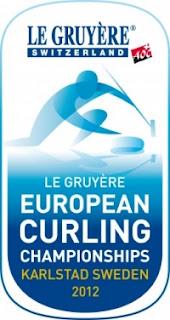 CURLING-Europeo masculino y femenino 2012