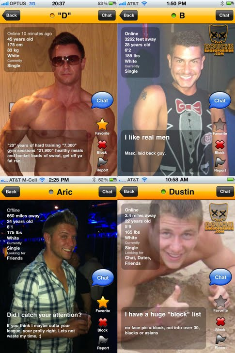Old grindr version