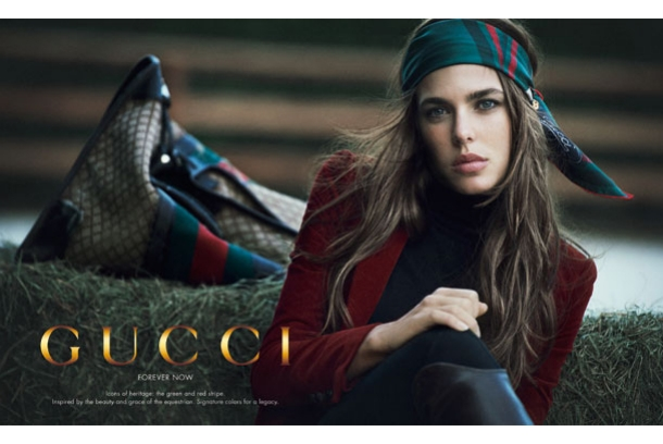 Charlotte+Casiraghi+Gucci+Campaign