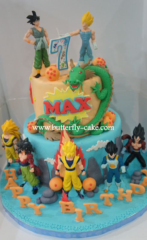 Butterfly Cake Dragon Ball Cake For Max