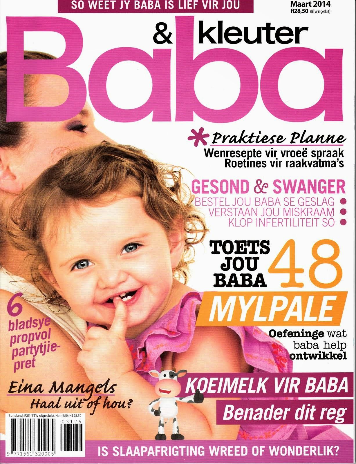 Baba en Kleuter Magazine March 2014