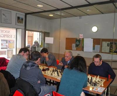 Encuentro de ajedrez l'Espiga de les Corts - Foment Martinenc (2)