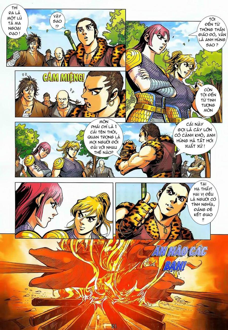 Thần Chưởng Long Cửu Châu chap 8 - Trang 21