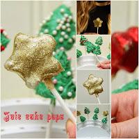 Jule cake pops
