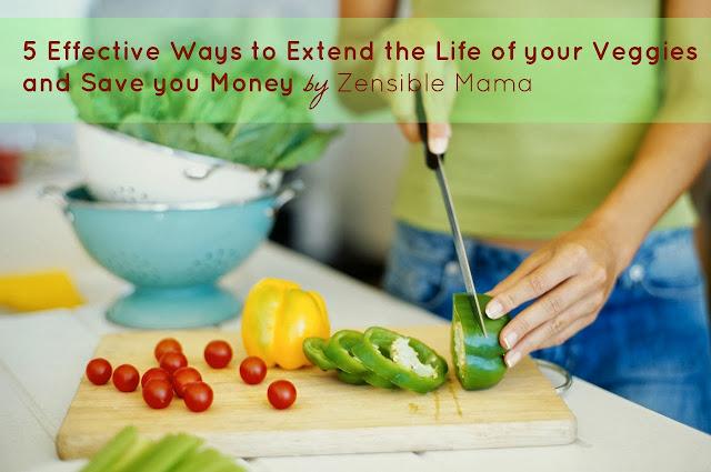 5 Effective Ways To Extend The Life of Your Veggies and Save You Money
