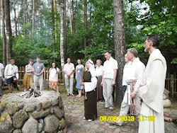 Baltu krivule - 2013 - Ožkine, Punskas, 7.-.9.jūnijs