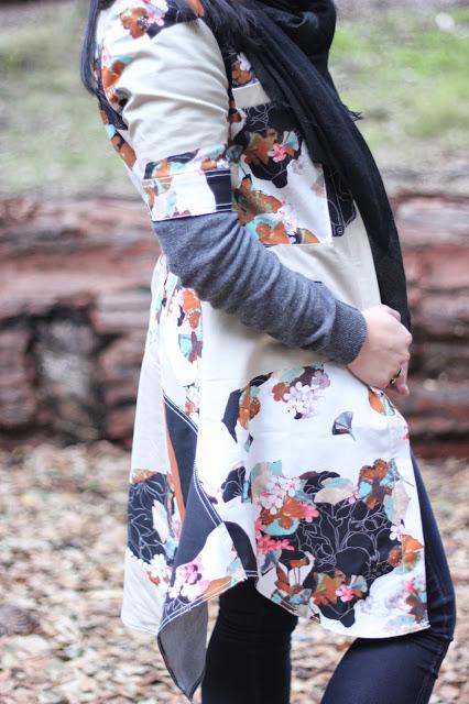 Phillip Lim x Target Kimono Print Dress