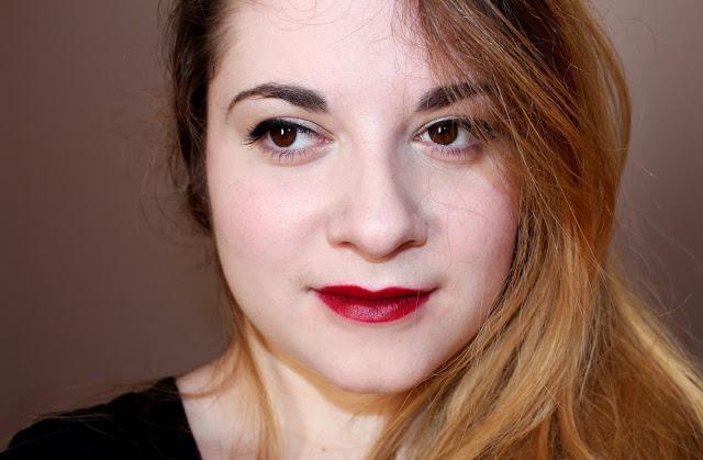 Revue rouge à lèvres 107 Rimmel kate moss
