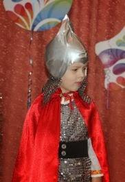 богатырь костюм к новому году для дошкольника