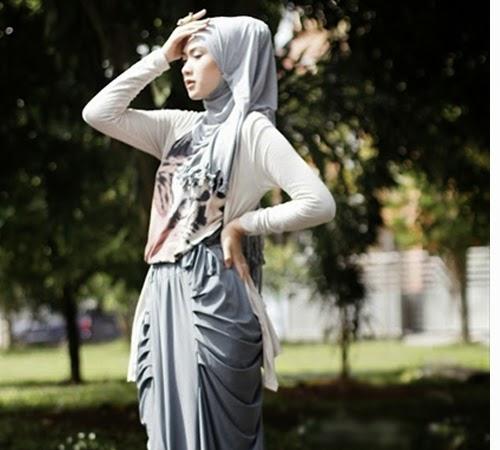 Tips dan cara memilih jilbab di musim panas
