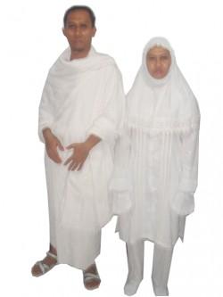 ihrom pakaian ihrom [putih bagi laki2 dan warna gelap bagi wanita,Model Baju Ihrom Wanita