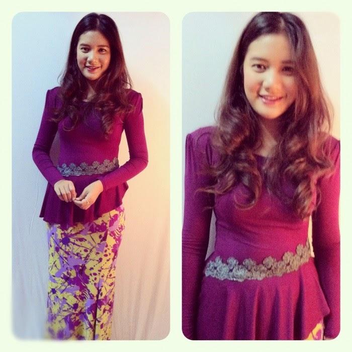 Model Baju Kurung Moden Terbaru 2014 | Eka.Web.id