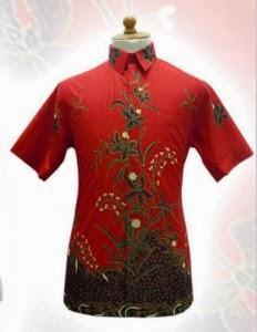 Model Baju Batik Pria Cowok Laki Laki