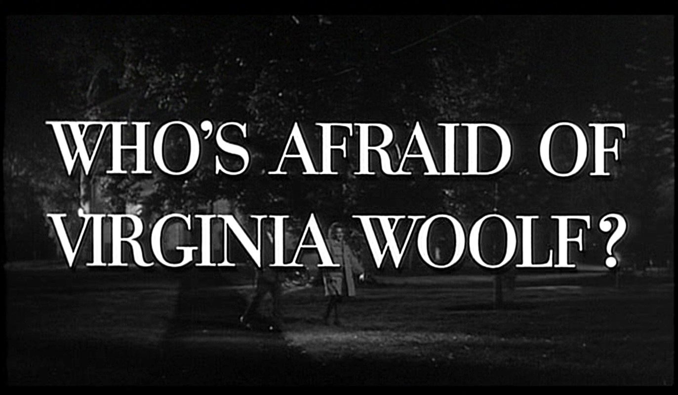 who s afraid of virginia woolf Who's afraid of virginia woolf by edward albee - george, a disillusioned academic, and martha, his caustic wife, have just come home from a faculty party when.