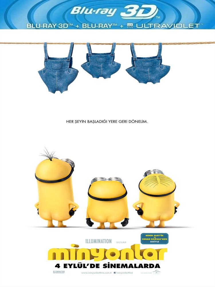Minyonlar (2015) 3D Film indir