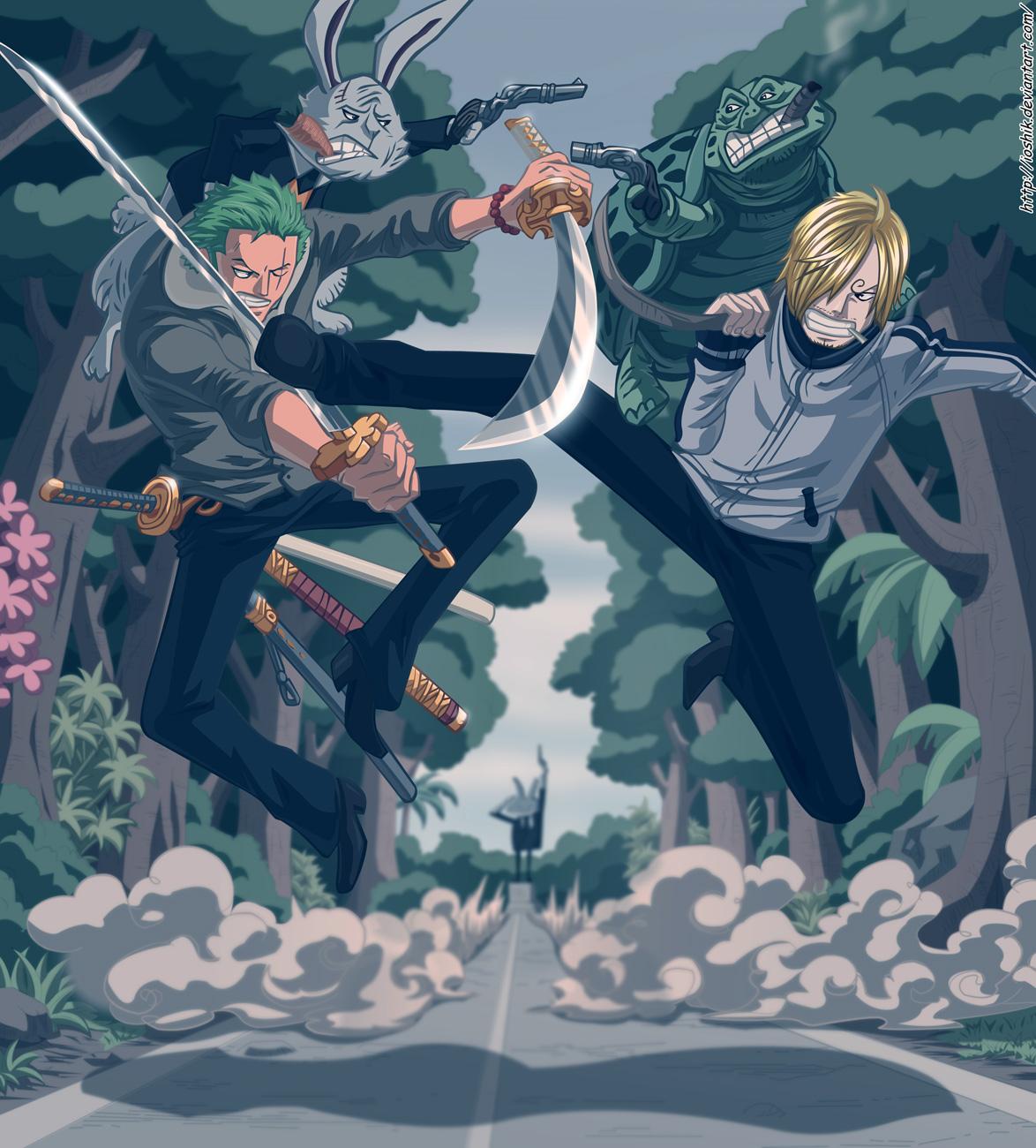 """One Piece Chapter 675: Và nó được gọi là """"Shi-no-Kuni"""" 022"""