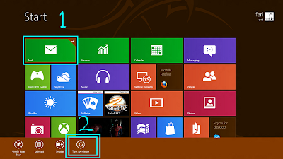 Cara Menghidupkan Tile Icon Di Start Screen Windows 8