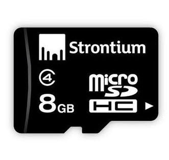 Amazon: Buy Strontium 8GB MicroSD card Class 4 Rs.99