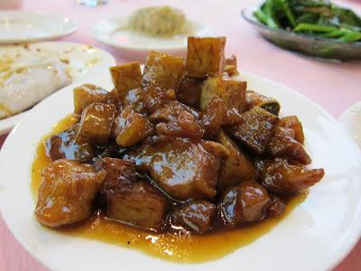 Μουσταρδομελάτο χοιρινό με μανιτάρια