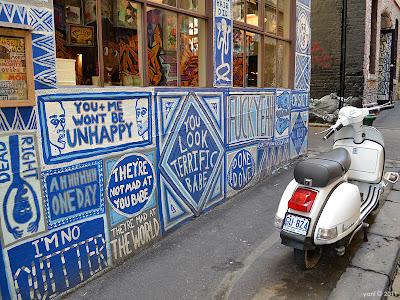 platitude wall, melbourne