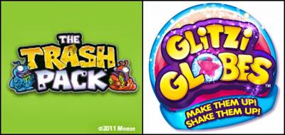 Trash Pack Glitzi Globes logo
