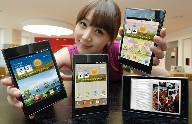 Phablet LG – curious smartphone and tablet PC in one