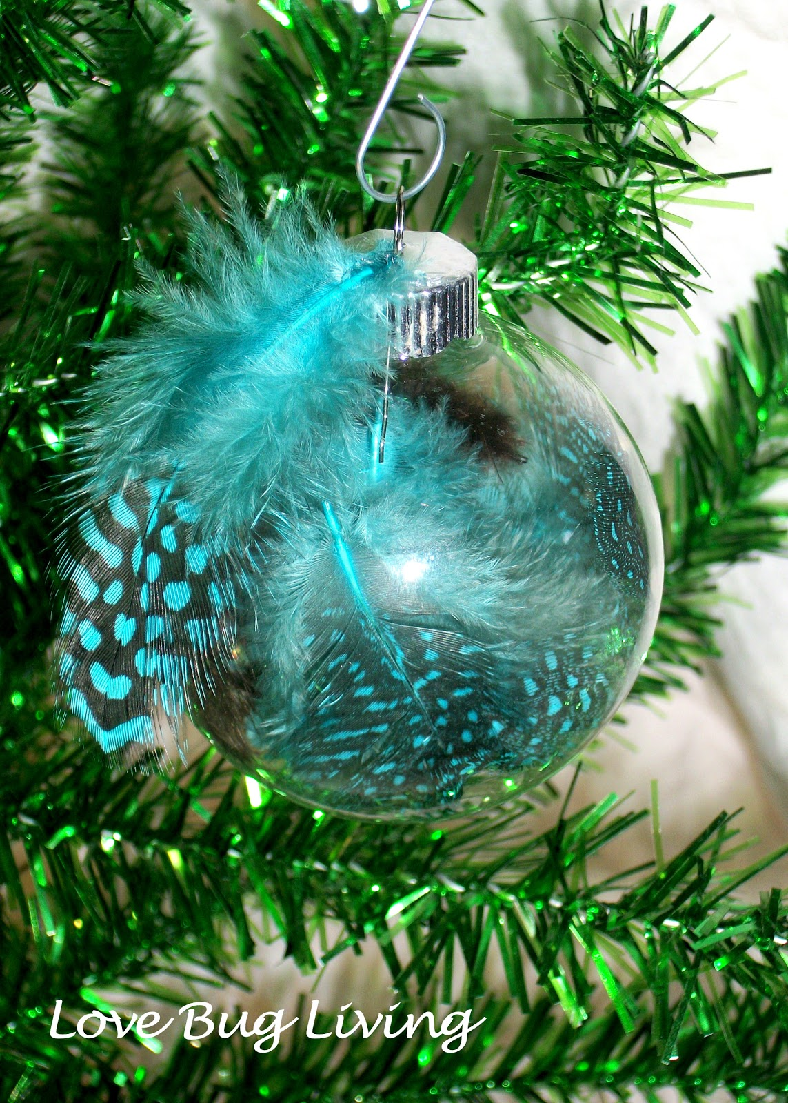 Love bug living ways to personalize glass ball ornaments