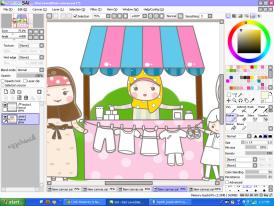 doodle,comel,tempahan doodle,cute,customer