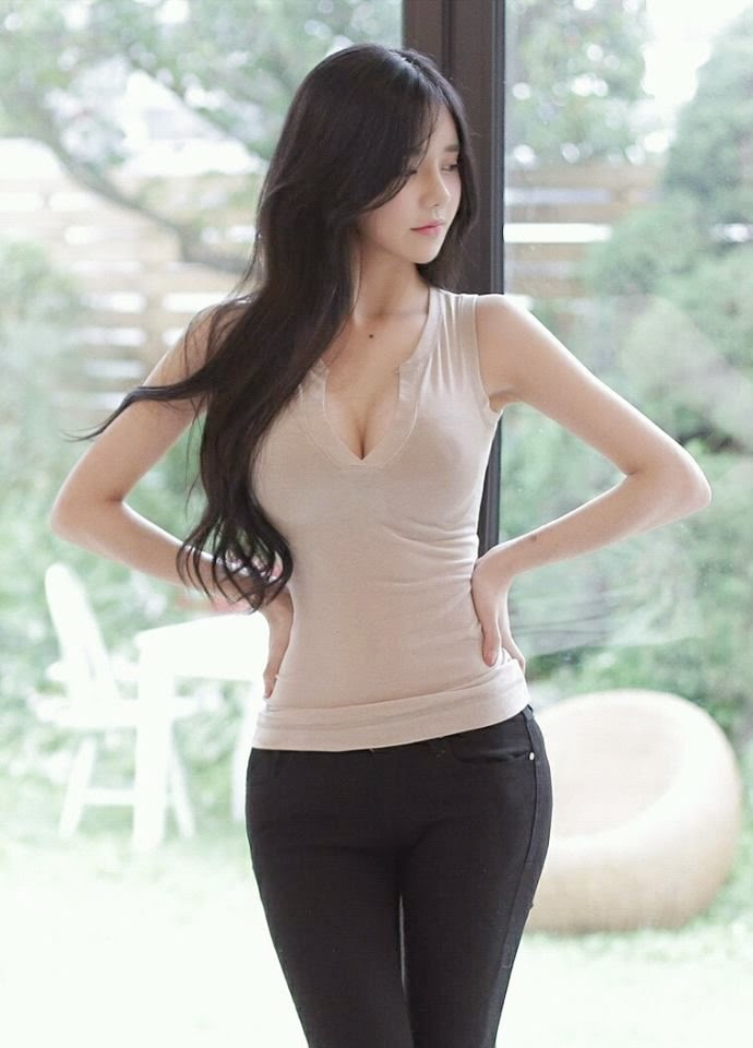 beautiful and cute asian girl