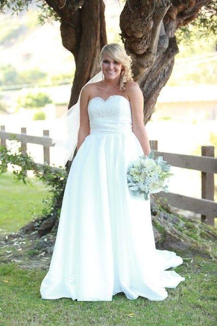 صور أحدث صيحات فساتين الزفاف لعروس 2015